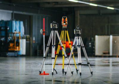 Lasernivelliergeräte Gruppenbild