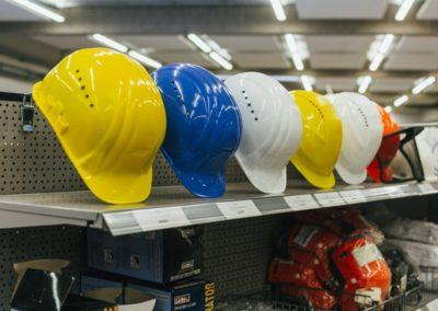 Arbeitsschutz - Schutzhelme