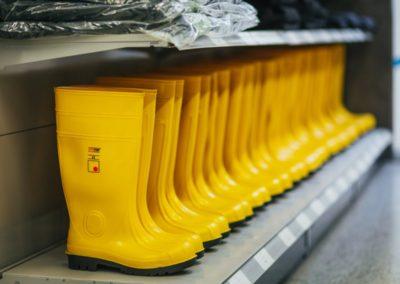 Arbeitsschutz - Sicherheits - Gummistiefel