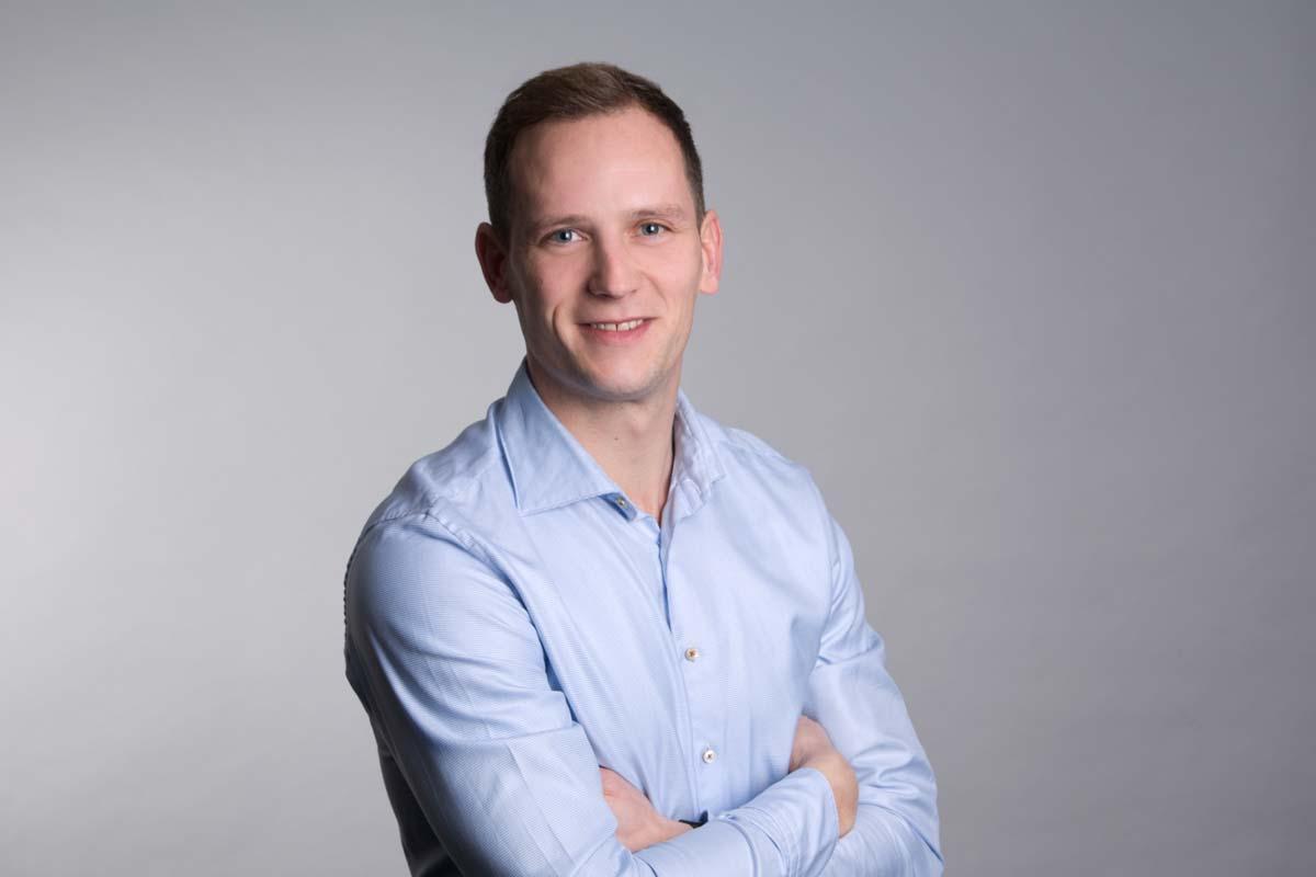 Jörg Gerdhenrichs - Vertrieb Bausysteme bei der Firma Stelter Bautechnik in Verl