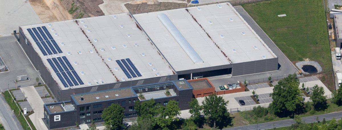 Luftbild Stelter Bautechnik in Verl 2014