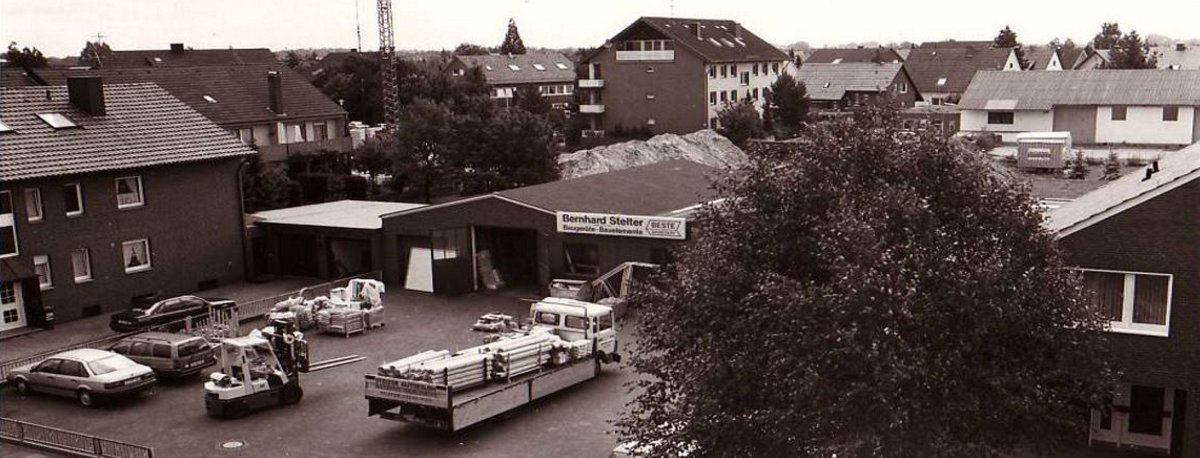 Standort Stelter Bautechnik Max Planck Strasse in Spexard in den 1960er Jahren