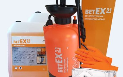 Neu im Lieferprogramm: betEX31 Betonentferner